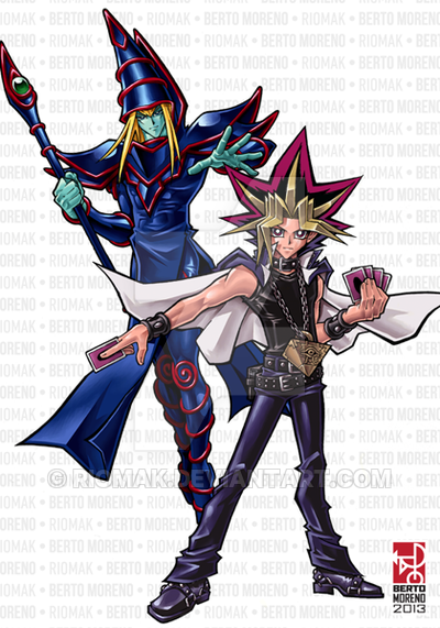 Yugi And Dark Magician By Riomak On Deviantart Yu Gi Oh The Magicians Awsome Pictures Yugioh