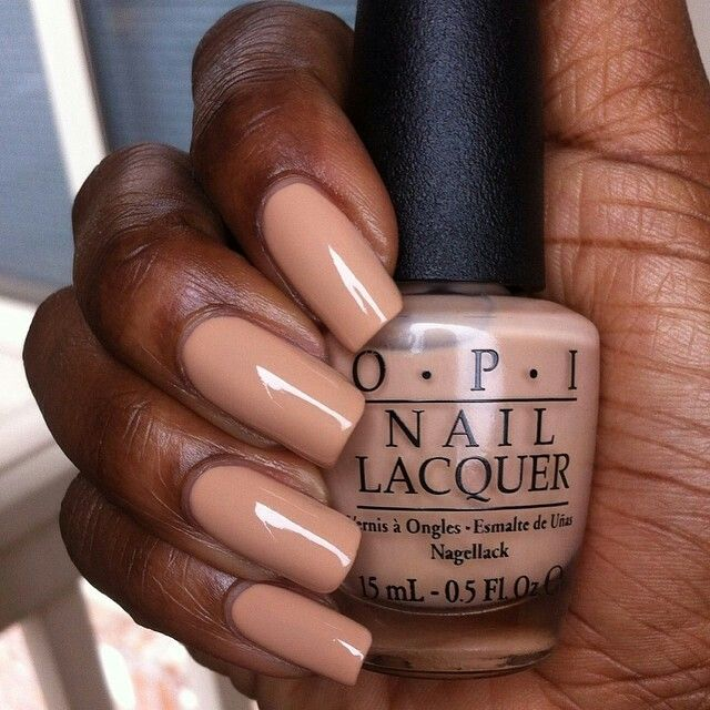 Black nude | Nailed It! in 2019 | Nude nails, Dark nails, Colors for ...