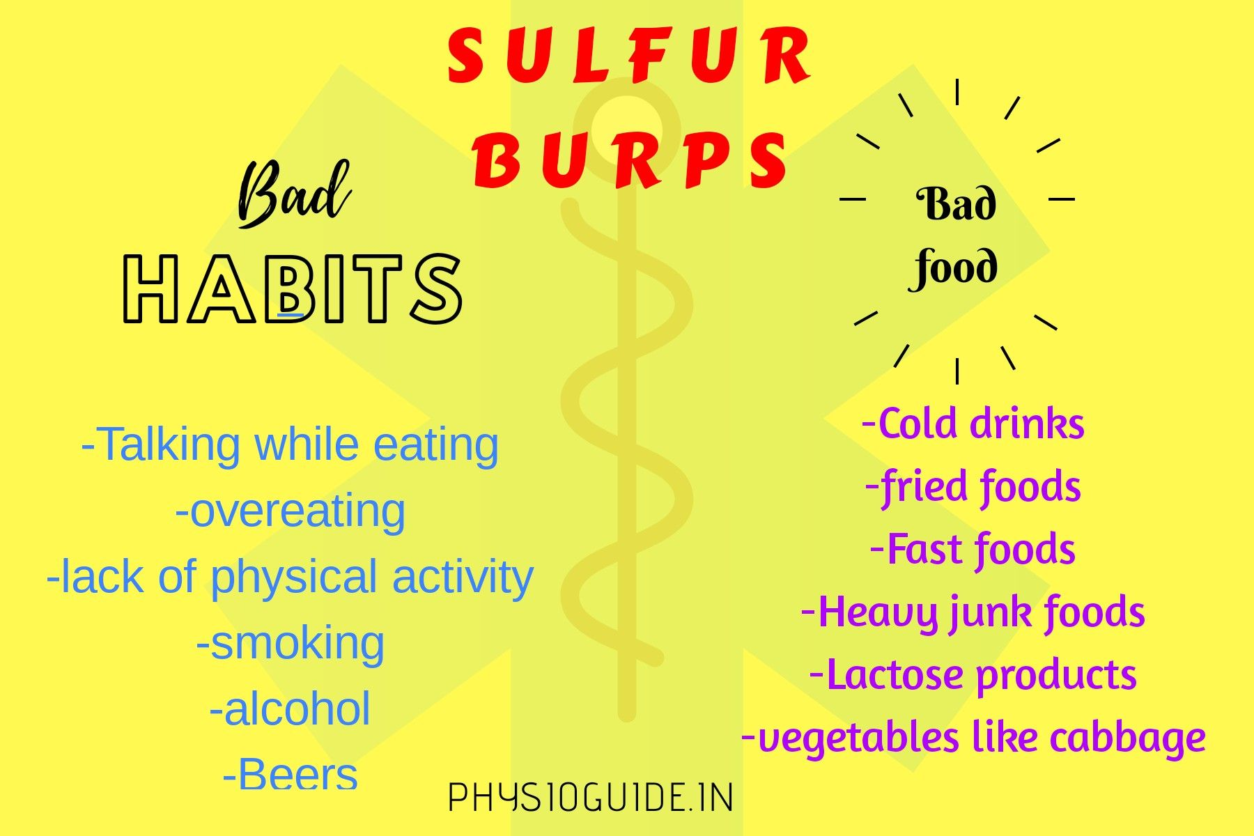 What Causes Sulfur Burps Sulphur Burps How To Get Rid Digestive System Problems