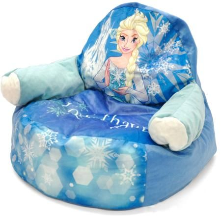 Incredible Frozen Elsa Character Figural Toddler Bean Chair Classroom Creativecarmelina Interior Chair Design Creativecarmelinacom