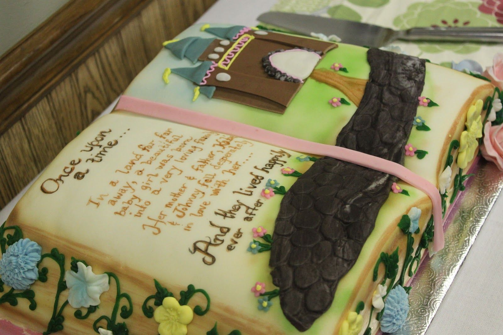 Storybook Themed Baby Shower This Is The Adorable Cake Strawberry