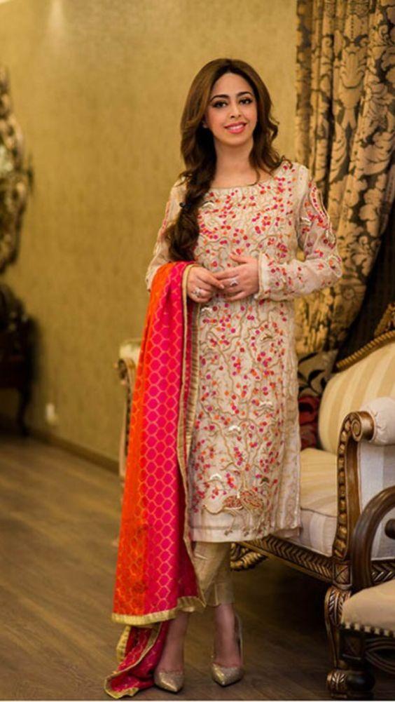 668ea590d2 Latest Party Wear Embroidered Shirts 2018-2019 Designs Collection | New Pakistani  suit collection 2016 | Fashion, Dresses, Pakistani dresses