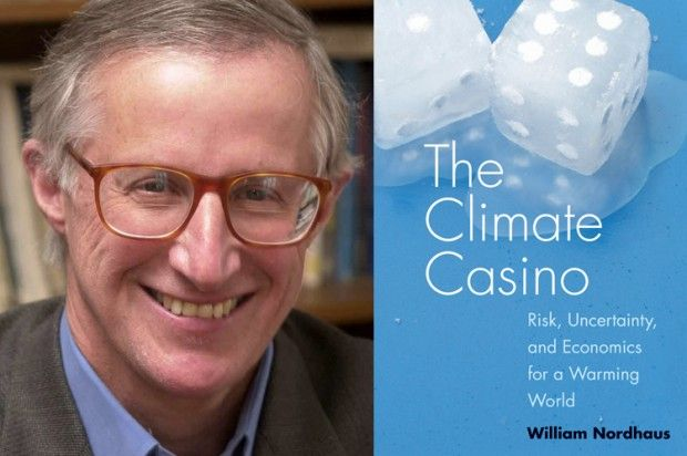 """William Nordhaus: Smoking can teach us about climate change. New Book: Leading US Economist at Yale William Nordhaus Explains Why Carbon Needs a Price 