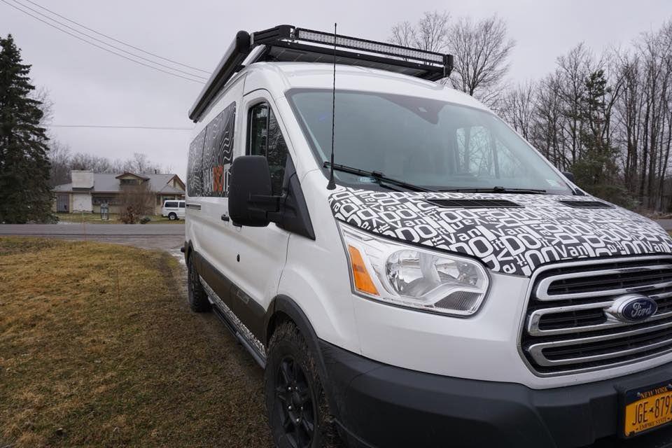 Vandoit Camper Vans Built On The Ford Transit 350 Xlt Passenger