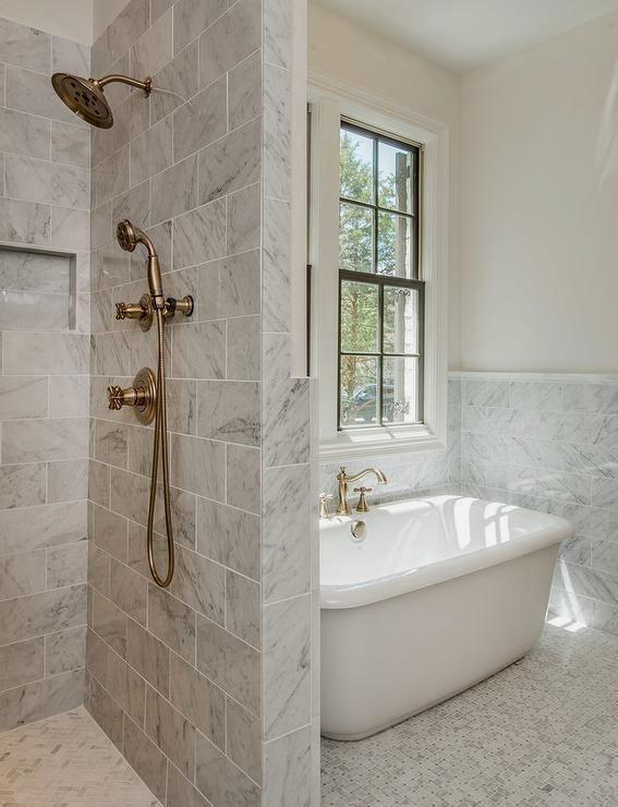 Grey Tiled Bathroom Ideas