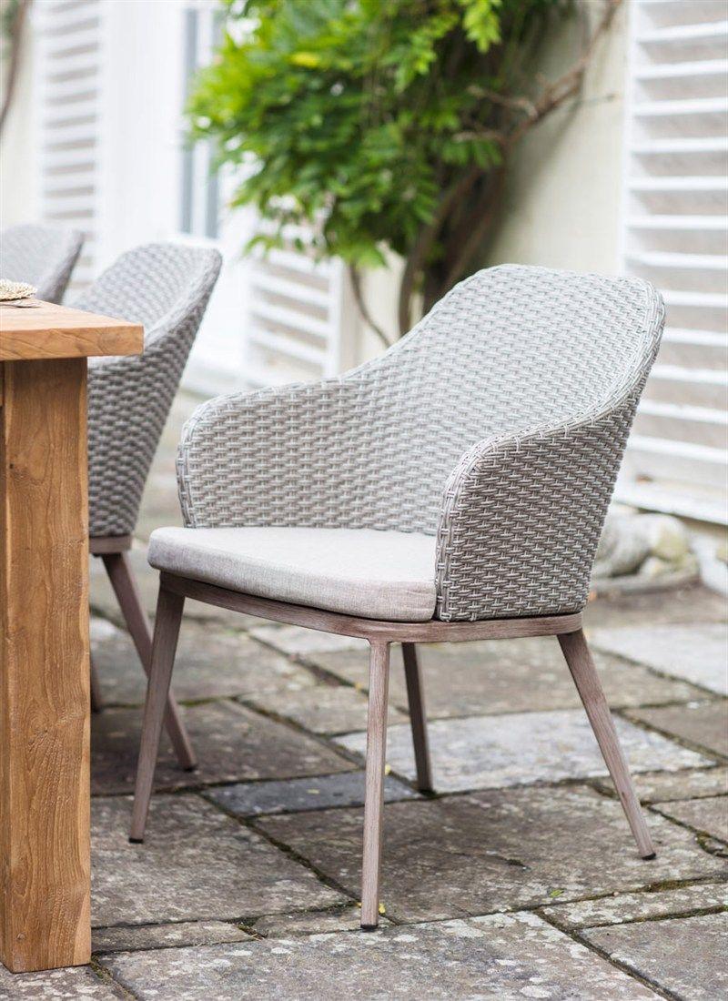 Set Of 2 Ashwicke Chairs All Weather Rattan Garden Trading