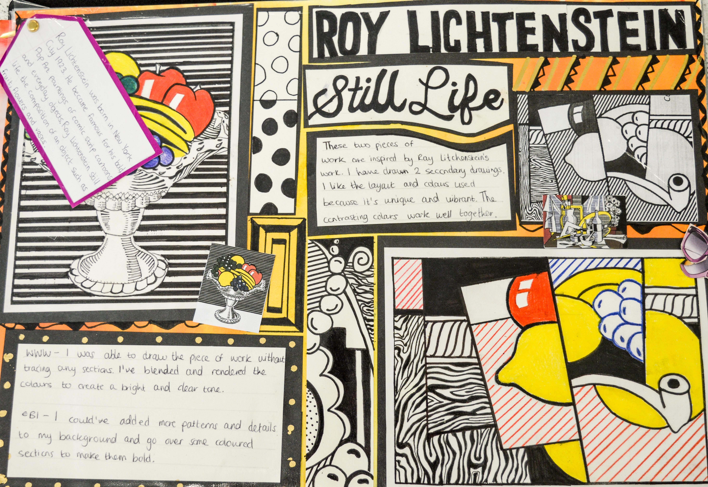 Roy Lichtenstein Artist Research