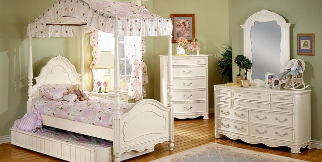 Vintage French Provincial Bedroom Set