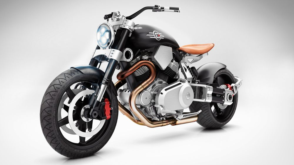 This Burly, $65K Motorcycle Is Inspired by a Fighter Plane   WIRED