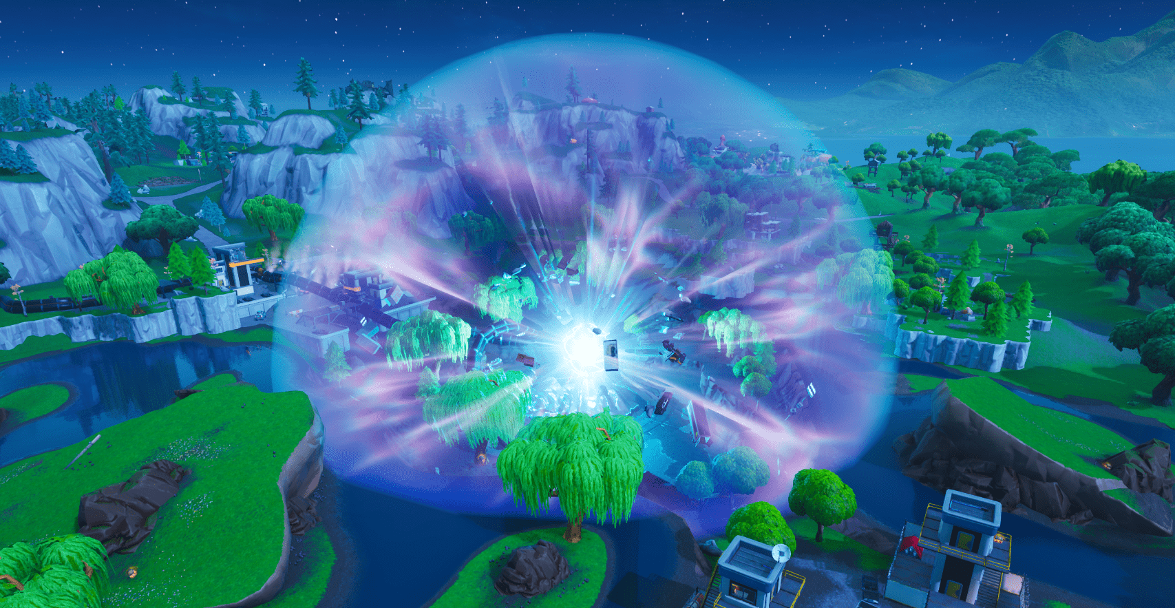 All Fortnite Season X V10 00 Map Changes Dusty Depot And Og Factories Return Old Poi Hints The Meteor More Here Are All Of Seasons Fortnite Desert Biome