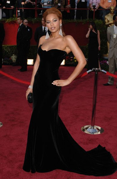 Beyonce Knowles Evening Dress