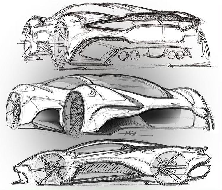 Aston Martin Sketch: 2019 Personal Sketch
