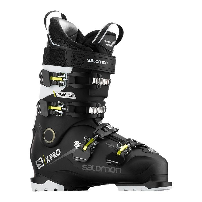 Salomon X Pro 100 Sport Cs Men S Ski Boots 2019 20 In 2020 Ski Boots Mens Skis Boots