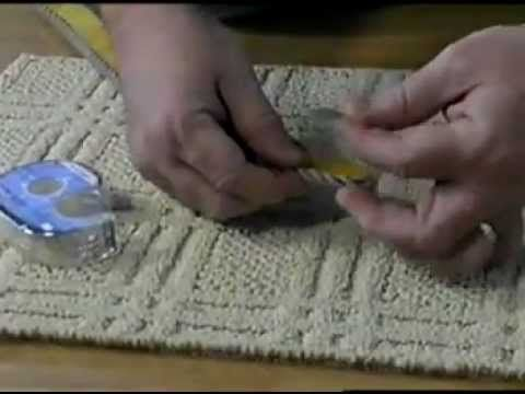 Cheapest way to make your own area rug the size of your for Cheapest way to build your own home
