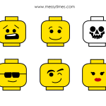 photo about Lego Face Printable named Lego Faces Printable Birthday Social gathering Suggestions in just 2019 Lego