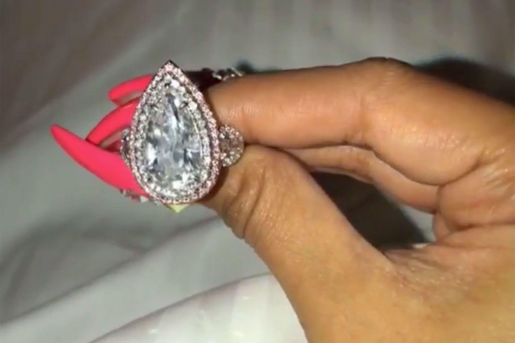 Cardi B Gives a CloseUp Look at Her Stunning 8Carat