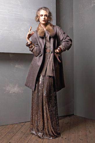 Elle Elegante Mode Im Soften 30er Jahre Stil
