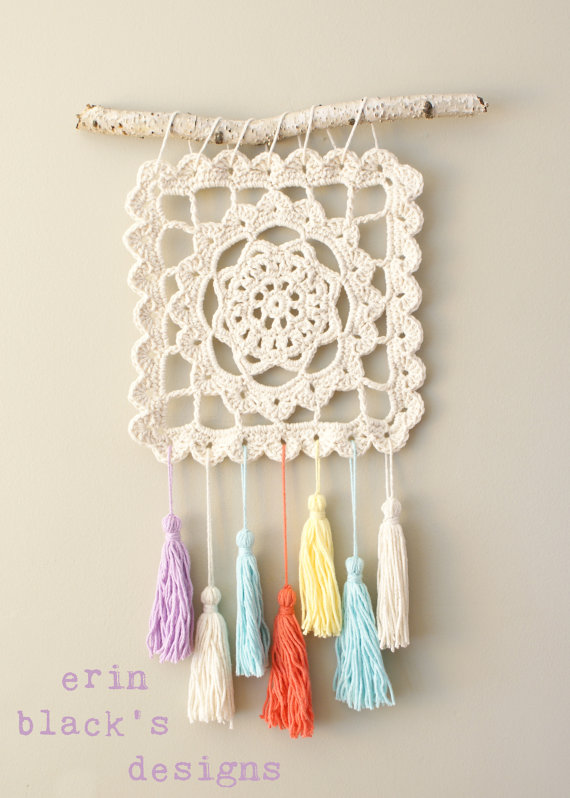DIY Crochet PATTERN - Dreaming of Granny Wall Hanging (2014024-2 ...