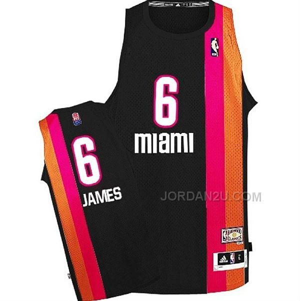 LeBron James Miami Floridians ABA Hardwood Classics Throwback ...