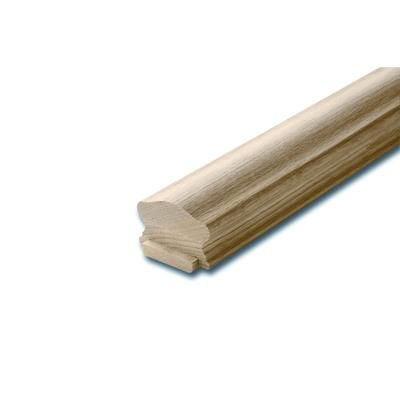 Alexandria Moulding - OakHandrail & Fillet 1-5/8 Inches x 2-1/2 Inches x 8 Feet - SP007-40096C - Home Depot Canada $68