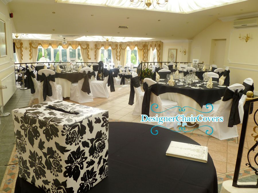 Wedding gift table wedding gift table la is getting married black and white wedding theme with some heavy metal fun designer chair covers to go negle Gallery