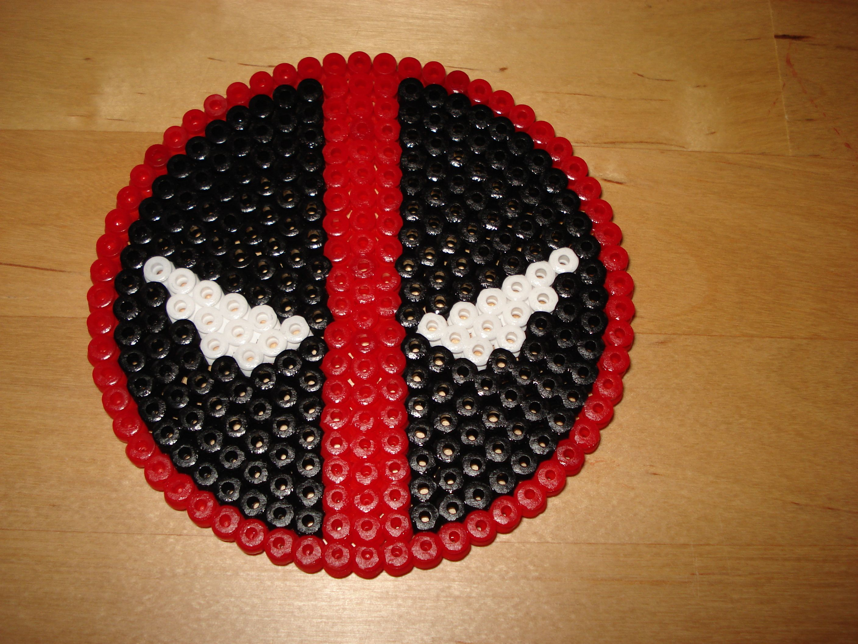 Deadpool Perler Beads By Whitewolfcharms Bugelperlen