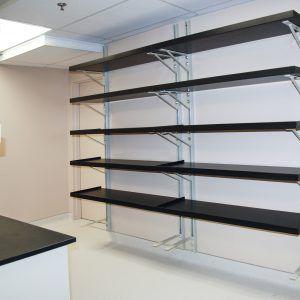 Heavy Duty Wall Mounted Adjustable Shelving  Garage shelves