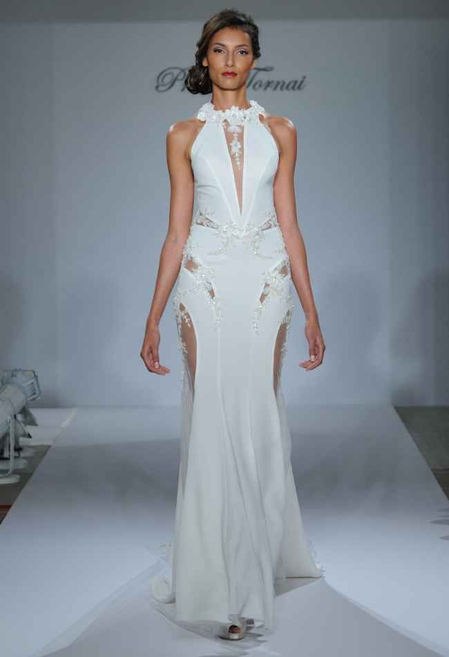 Pnina Tornai Fall 2015 Wedding Dresses Are Sultry and Bold | Pnina ...