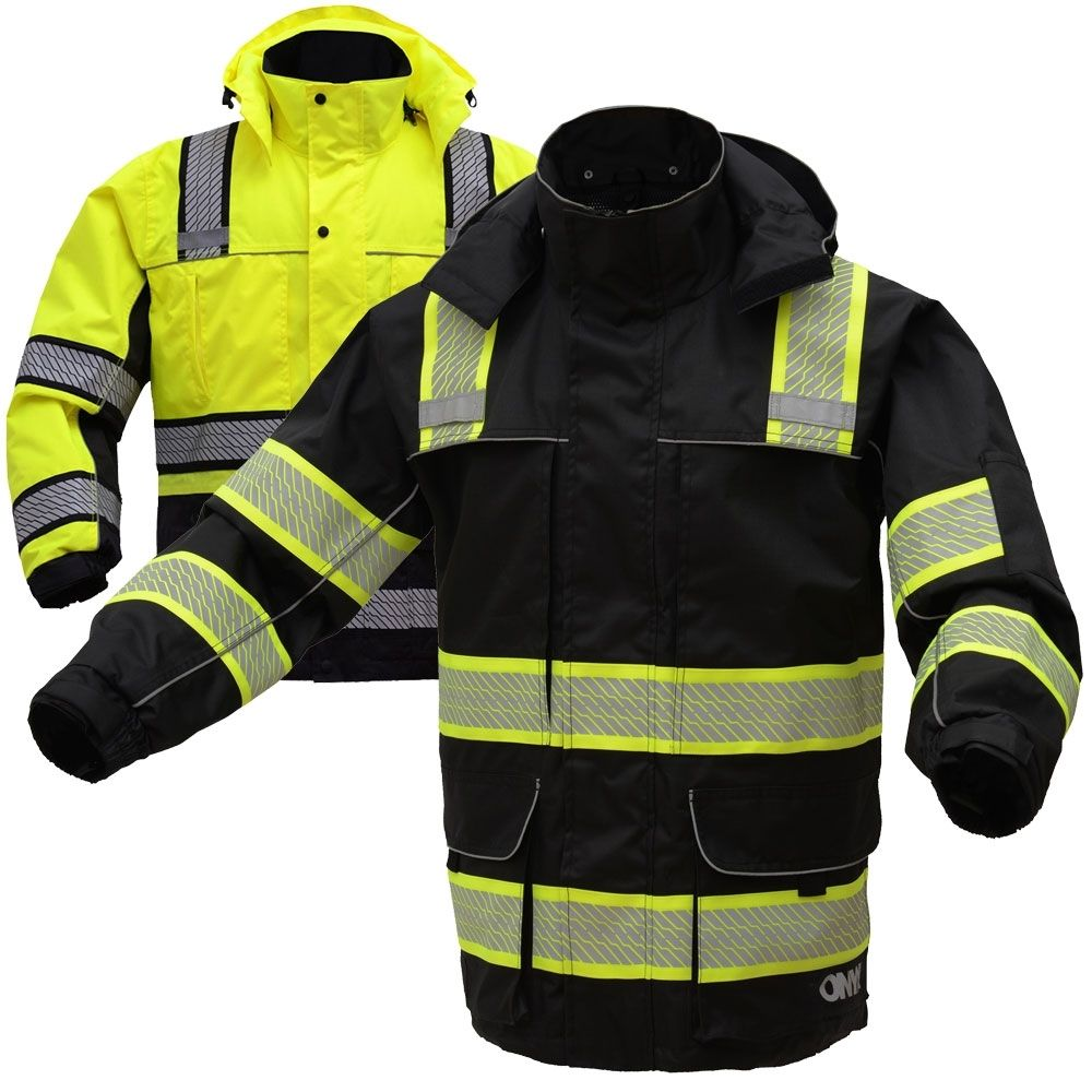 Gss safety 8505 onyx series class 3 hivis thermal 3in1