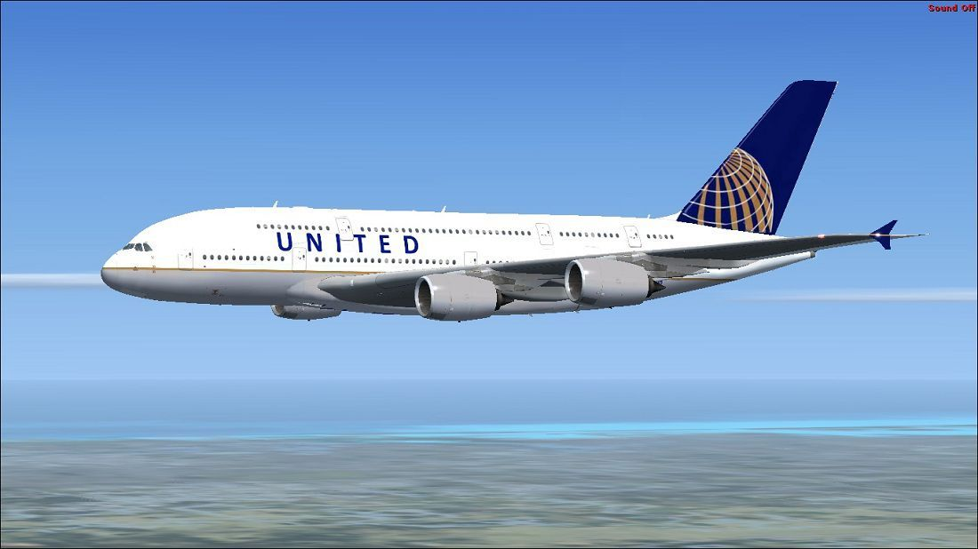 United Airbus A380-800 for FSX   Projects to Try   Airbus