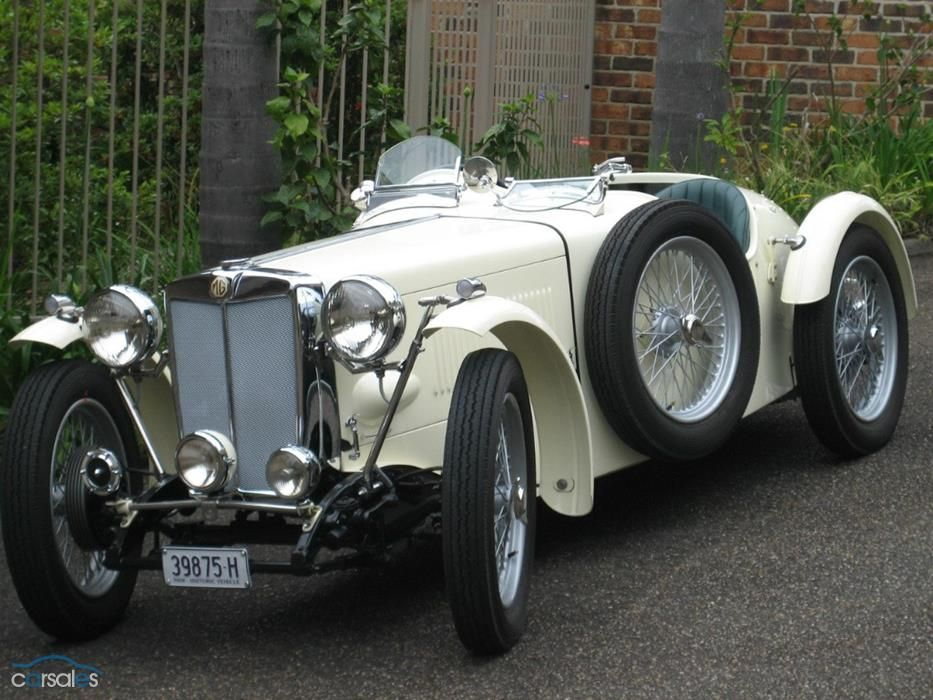 1948 MG-TC Roadster. Maintenance/restoration of old/vintage vehicles ...