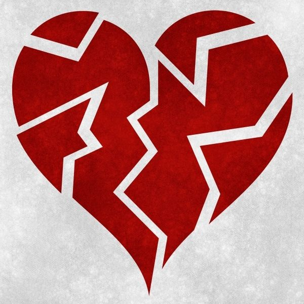 This Picture Of A Broken Heart Relates To Gatsby When He Was Never