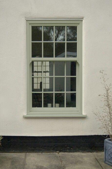 Image Result For Sage Green Upvc Sash Windows House