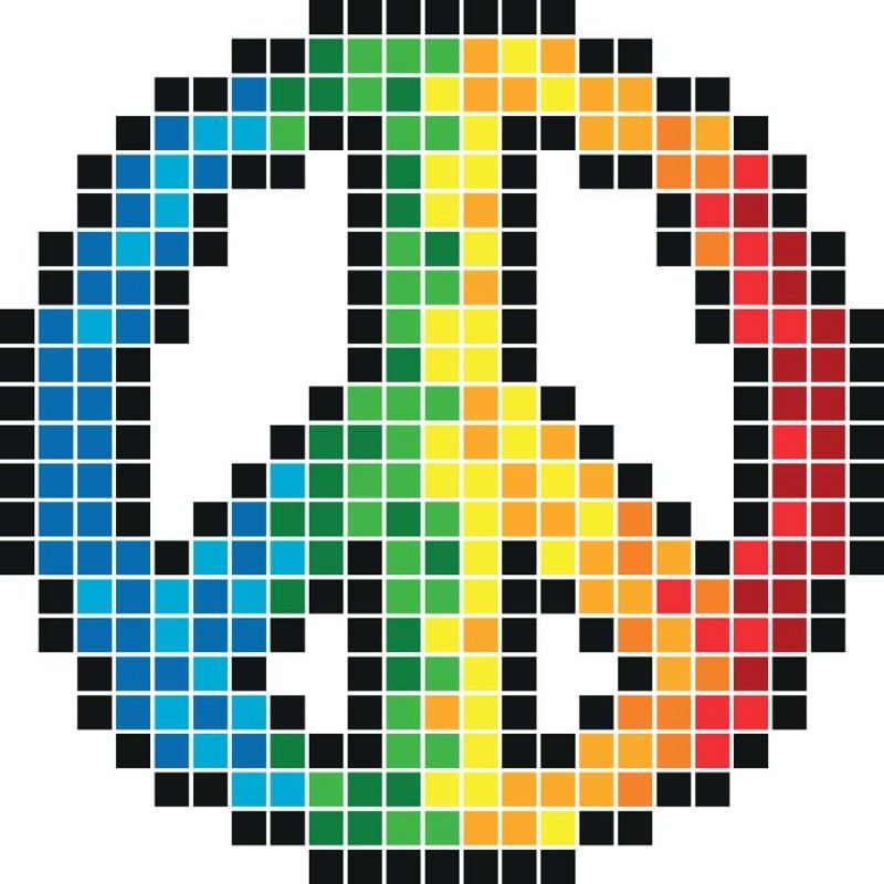 Afficher Limage Dorigine Pixel Art Pixel Art Licorne Et