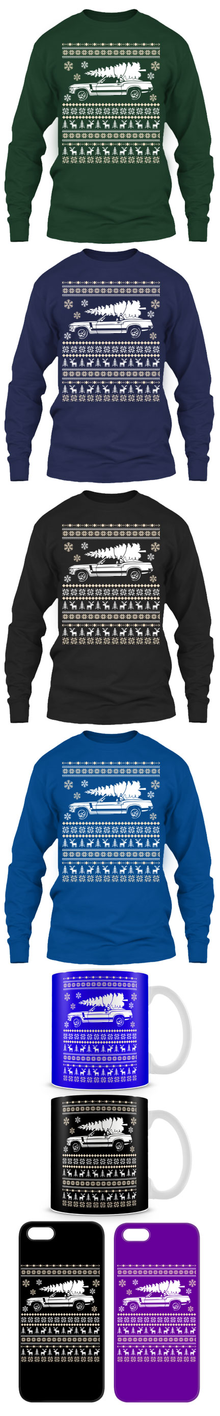 Ford Mustang Ugly Christmas Sweater Click The Image To Buy It Now