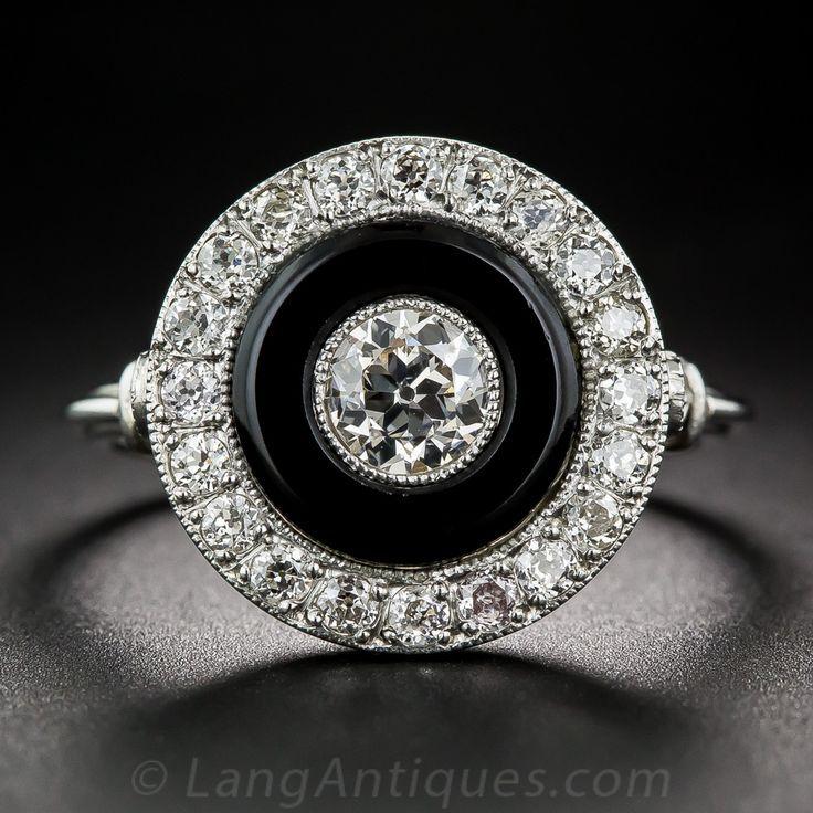 Un brillante y brillante diamante Europeo de corte, que pesa 0,37 ...