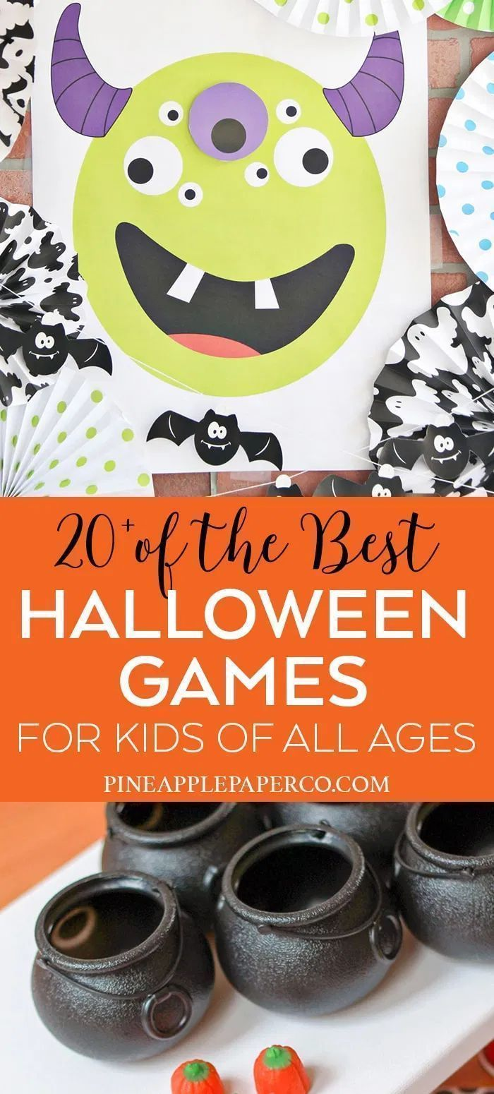 21+ Halloween Party Games for Kids of All Ages, ages