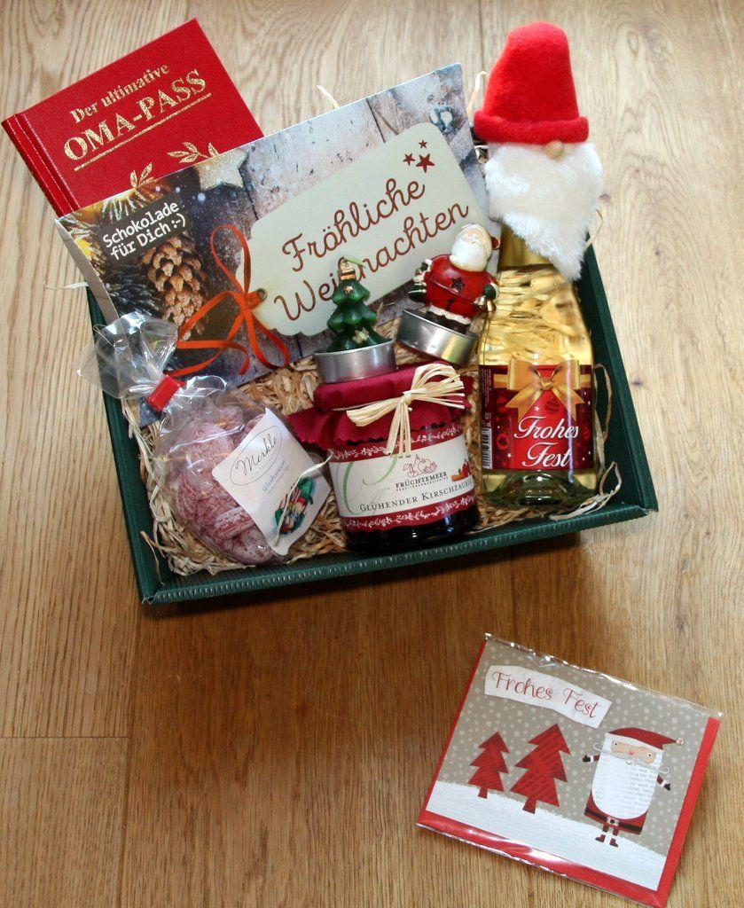 Ähnliche Artikel wie Oma Geschenkkorb Weihnachten auf Etsy