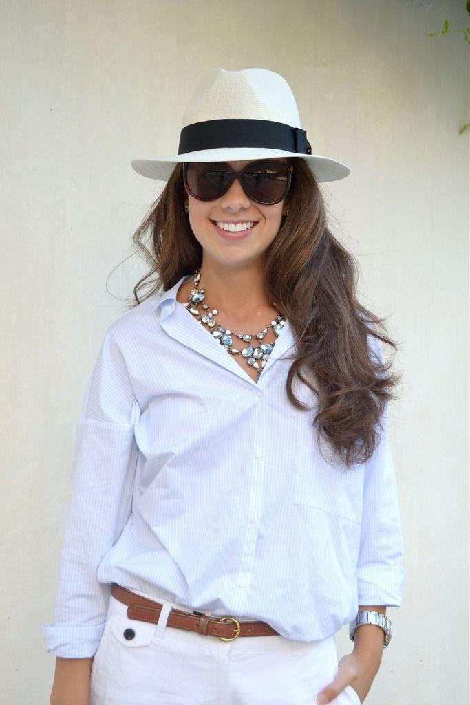 Cómo combinar un sombrero panamá en tu look de primavera  4d50a2bd716