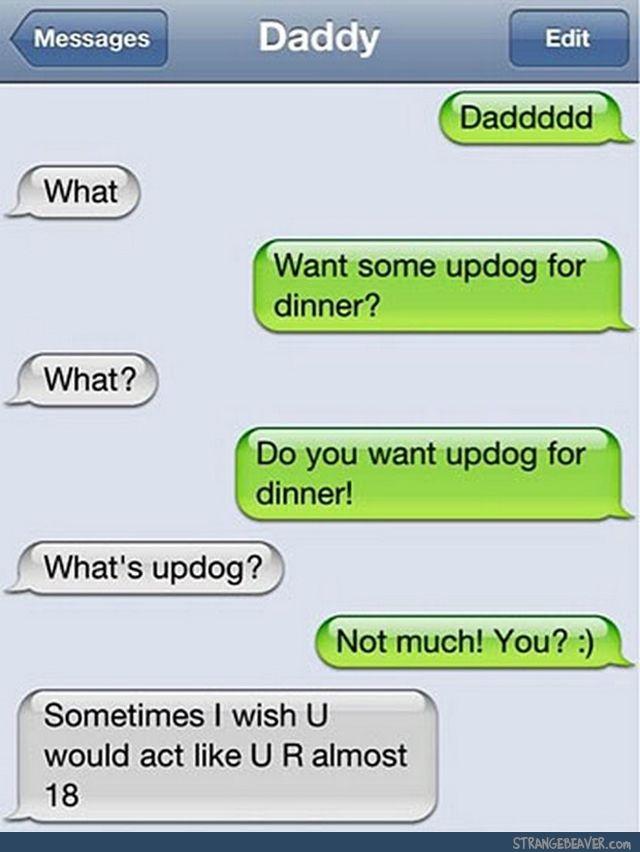 Strange Text Messages 6-4