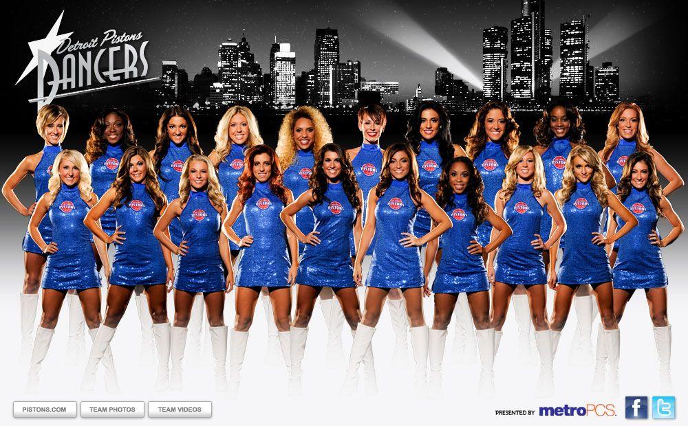 Dancers 2019 Detroit pistons, Dancer, Cheerleading
