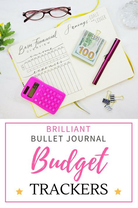 10 Brilliant Budget Trackers for your Bullet Journal | Bullet ...