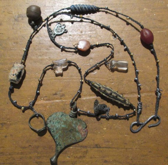 Ancient One of A Kind Talisman Necklace by JourneyTalismans