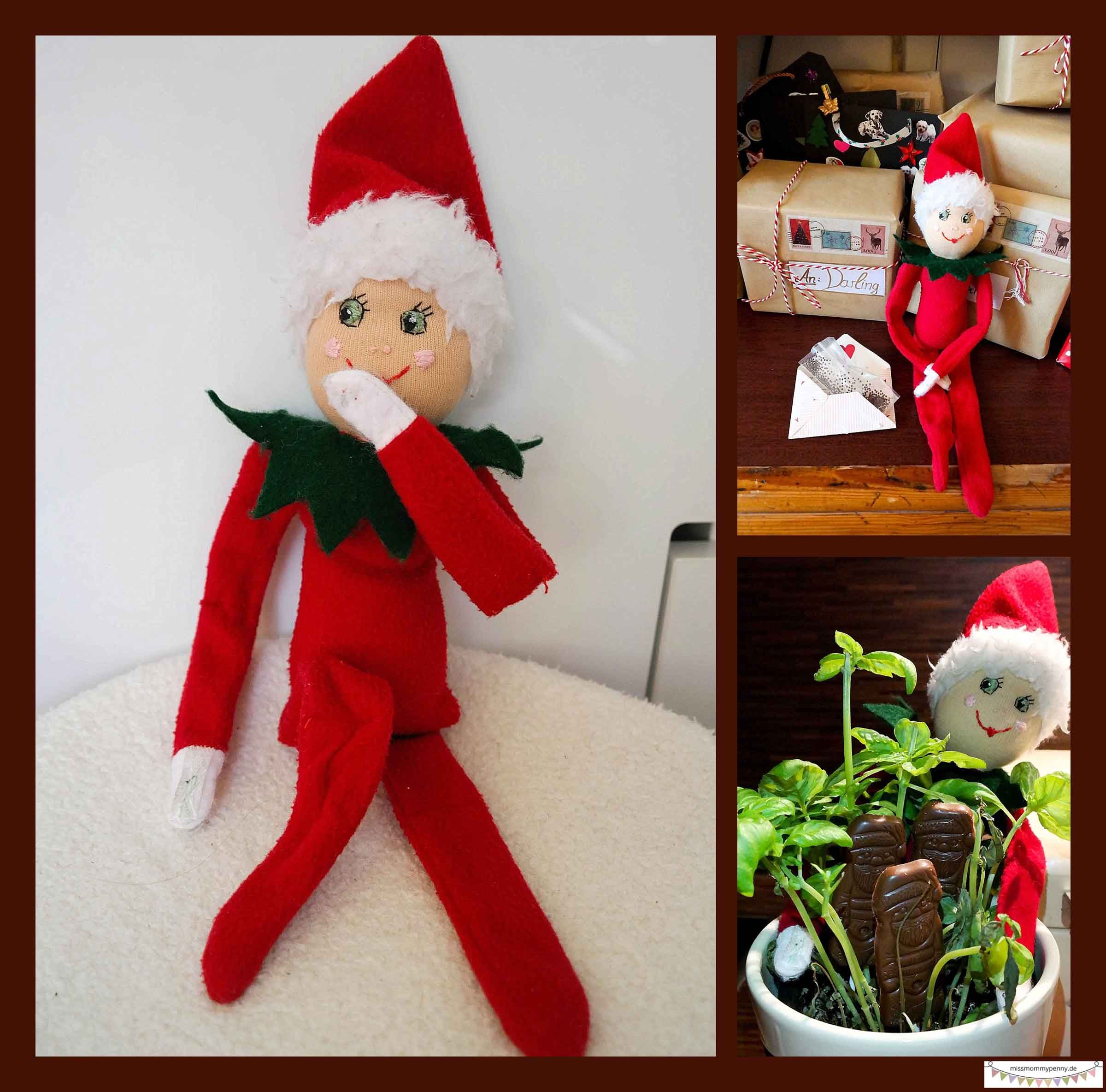Streiche vom Weihnachtself | weihnachten | Pinterest | Weihnachtself ...