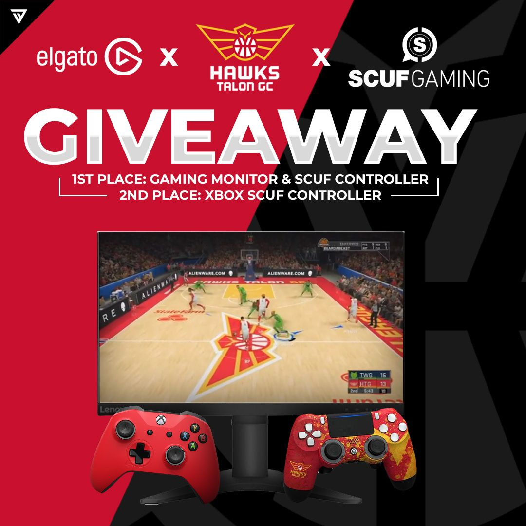 Gaming monitor scuf giveaway in 2020 giveaway games