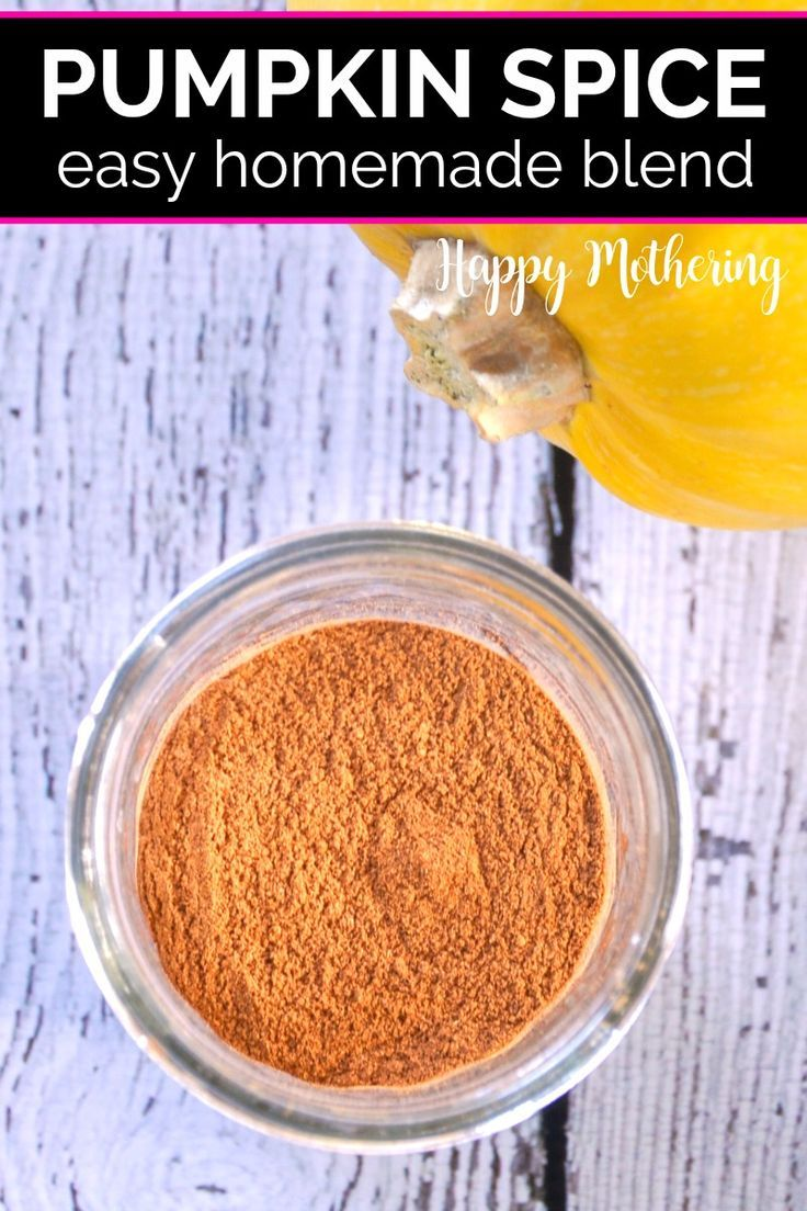 Homemade Pumpkin Pie Spice Recipe Pumpkin pie spice