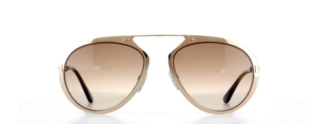 57aac6977908d Tom Ford Dashel TF0508 28F in Shiny Rose Gold