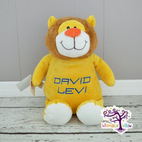 Lion Stuffed Animal Cubbie