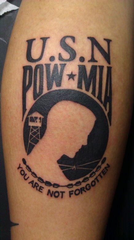 Military Tribute Tattoo