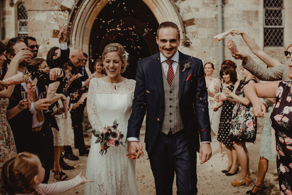 Diy brides on a budget can learn from this sweet english wedding